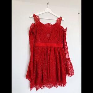 majorelle, courtney lace dress
